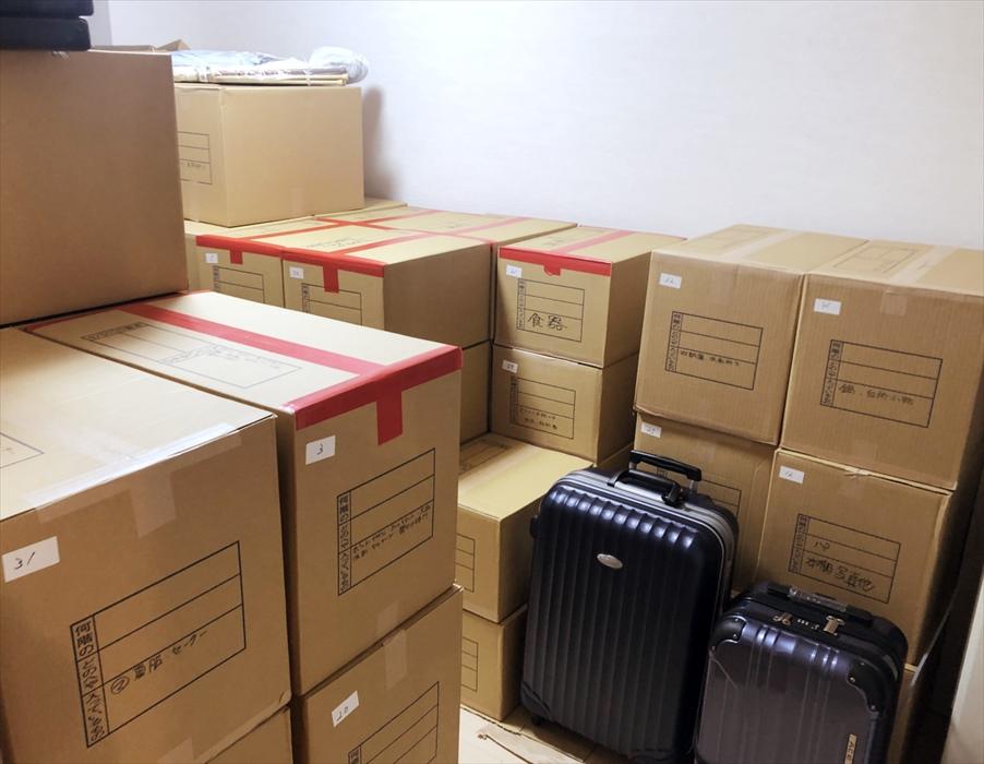 荷物の搬入作業.7