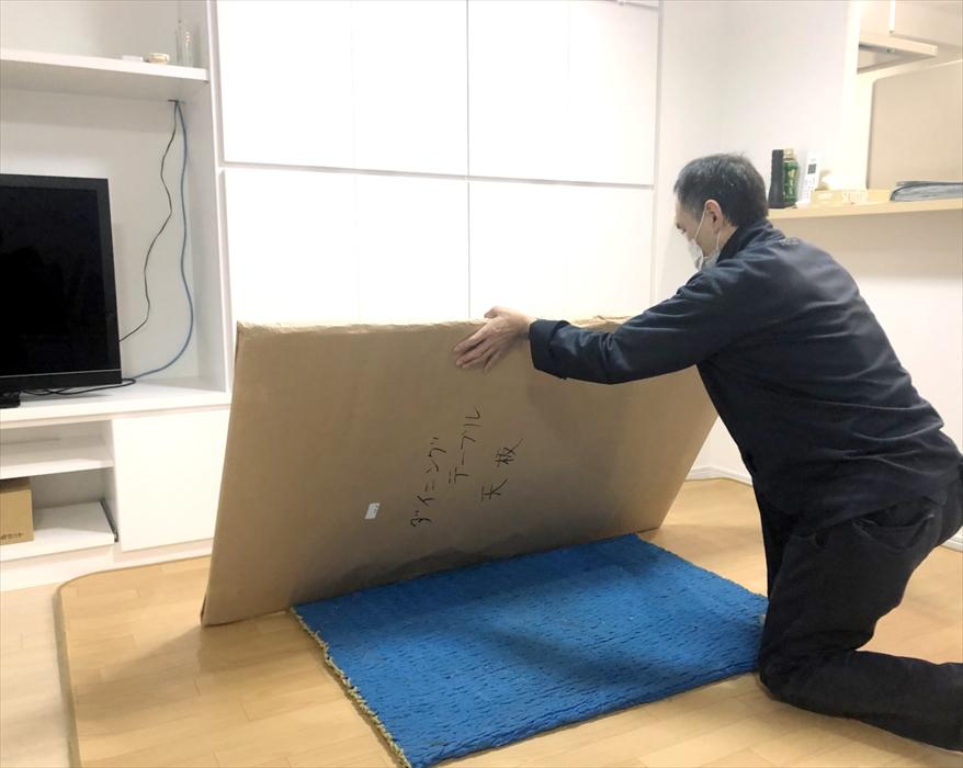 荷物の搬入作業.3