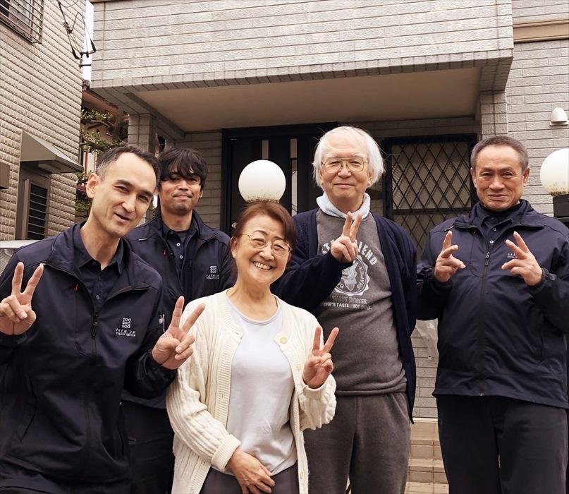 荷物お預かり便(引越(運搬)保管)のお客様記念撮影.1