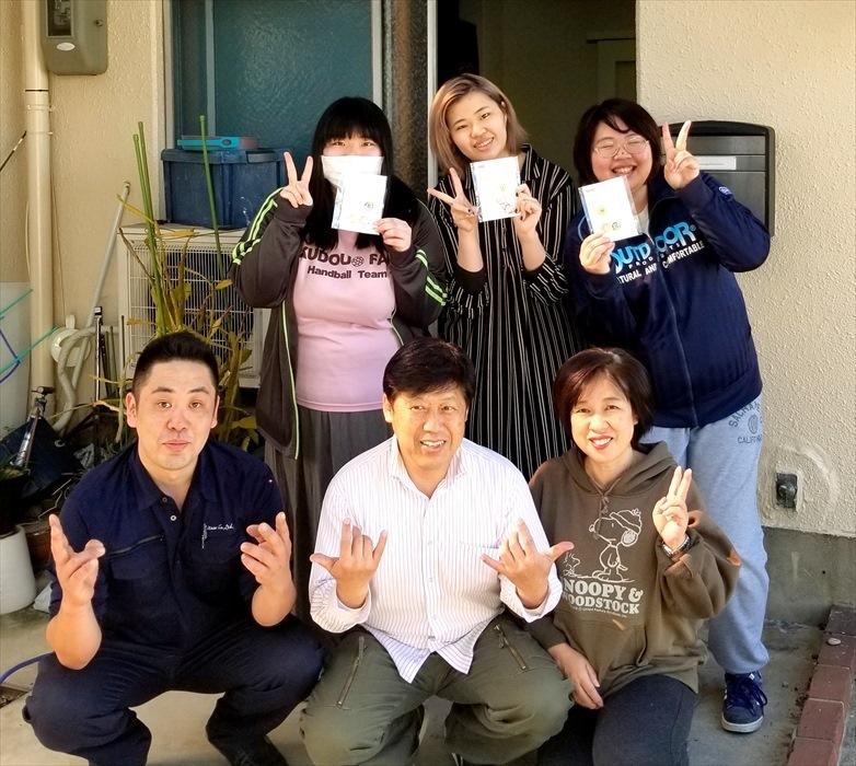 荷物お預かり便(引越(運搬)保管)のお客様記念撮影.7