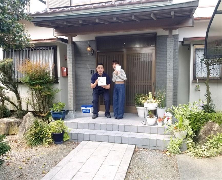 荷物お預かり便(引越(運搬)保管)のお客様記念撮影8