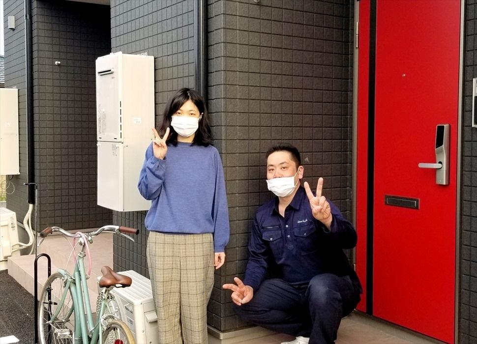 荷物お預かり便(引越(運搬)保管)のお客様記念撮影.9
