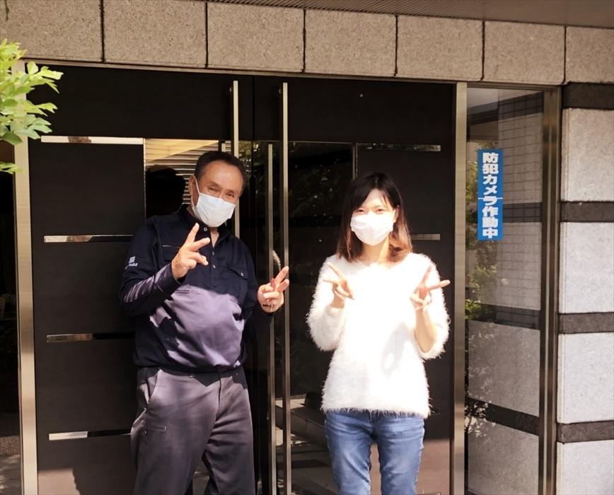 荷物お預かり便(引越(運搬)保管)のお客様記念撮影.12