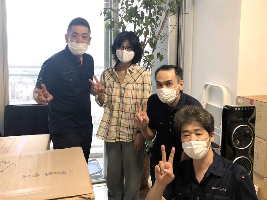 荷物お預かり便(引越(運搬)保管)のお客様記念撮影.14
