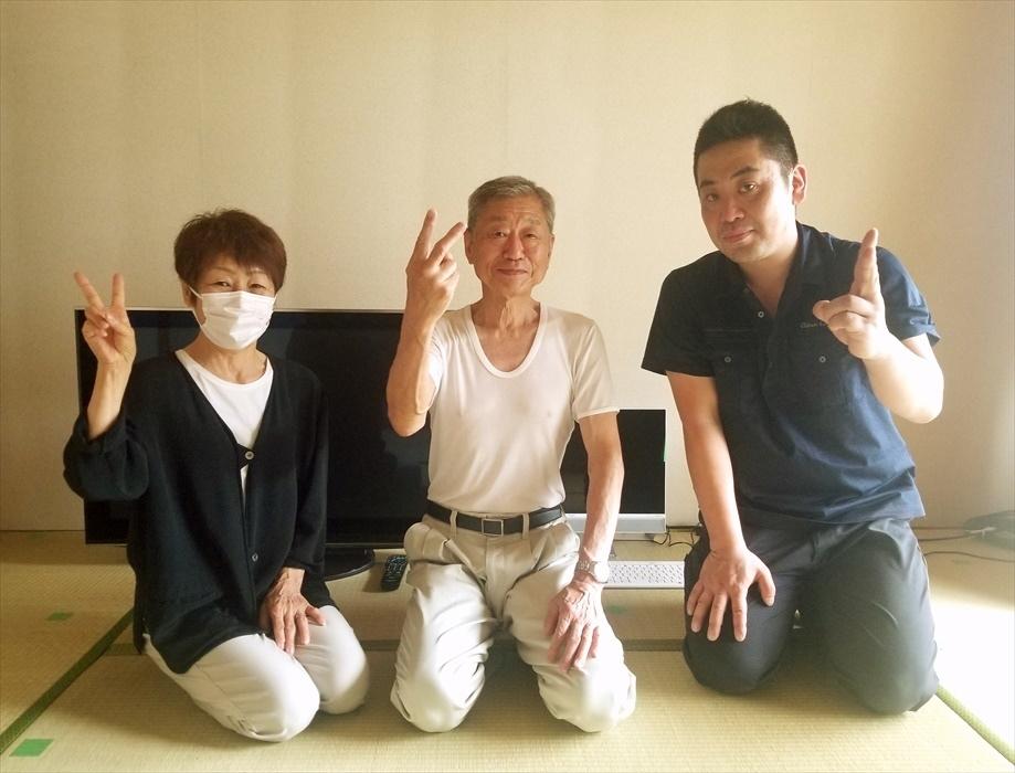 荷物お預かり便(引越(運搬)保管)のお客様記念撮影.19