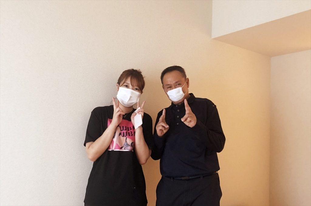 荷物お預かり便(引越(運搬)保管)のお客様記念撮影.21