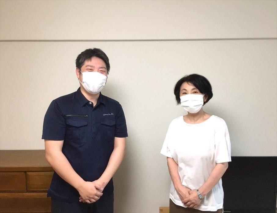 荷物お預かり便(引越(運搬)保管)のお客様記念撮影.24