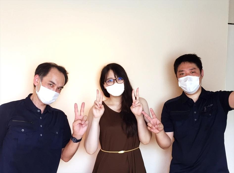 荷物お預かり便(引越(運搬)保管)のお客様記念撮影.29