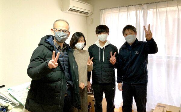 荷物お預かり便キャンペーンご利用のお客様記念写真.2