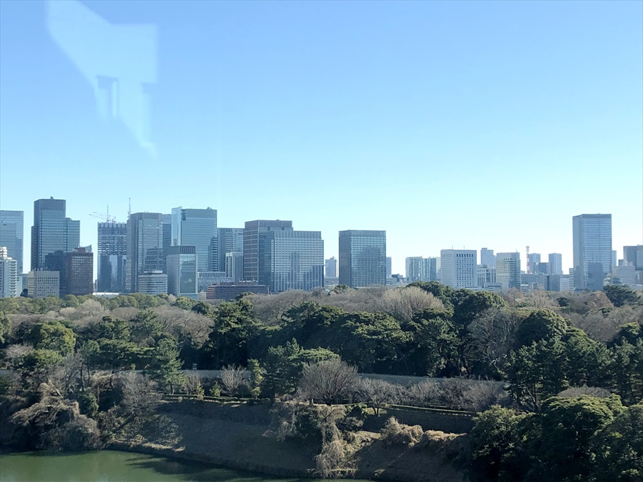 セカンドハウスから見える外の景色
